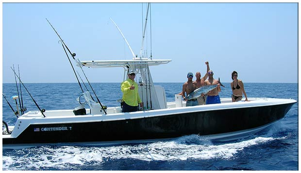 Contender fishing boat. Our 2005 center-console gets you to your fishing ...