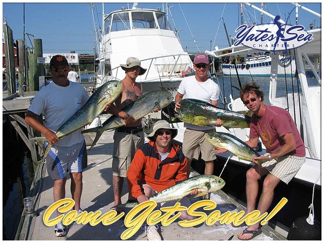 Charleston, SC guided deepsea offshore fishing charters, inshore fishing, and nearshore fishing tours.